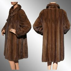 Old Mink Coats for Sale | FUR COLLAR STOLE SCARF WRAP COAT BOA