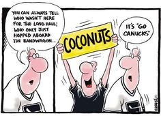 Vancouver Canucks ... hockey fans ... lol