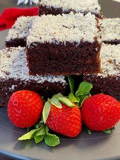 Bezlepková čokoládová buchta s kokosem | Bez lepku Gluten Free, Baking, Healthy, Sweet, Desserts, Recipes, Food, Thermomix, Glutenfree
