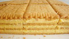 Fantastický sušenkový dort! Oblíbený u dětí! | Milujeme recepty