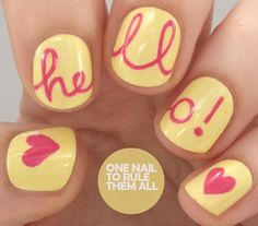 One Nail To Rule Them All: Hello! for Avon