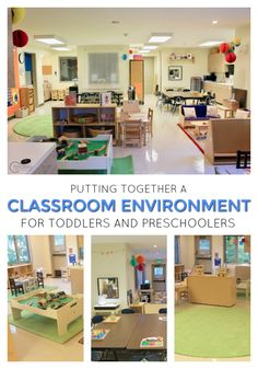 Creating a Classroom Design for Toddlers and Preschoolers