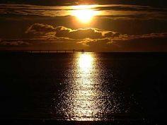 Sunrise in Comodoro Rivadavia, Chubut
