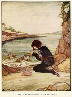 The White Snake by the Brothers Grimm Illustrated by Rie Cramer
