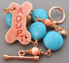 Talking Dogs at For Love of a Dog: New Adopt a Dog Jewelry Gifts