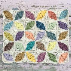 Crochet Granny Square Design Kawung Motif Crochet pattern by Atty*s - Motifs Granny Square, Crochet Motifs, Granny Square Crochet Pattern, Crochet Squares, Crochet Stitches, Crochet Patterns, Granny Squares, Crochet Designs, Crochet Quilt Pattern