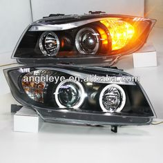 1.Lamp Type: Projector Lens   2.Voltage :12V   3.Auto Head Light   4.Can be used in For BMW E90   5.LED Head Lamp