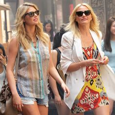 Cameron Diaz and Kate Upton's The Other Woman wardrobe!