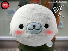 Super Kawaii Plush Baby Seal Cushion