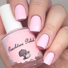 A pale pink cream nail polish Opaque with 2 coats(1) 15ml bottle for $8.00OR (1) 7ml mini for $4.00photos courtesy of Melissarenea, Ladybugs_nails (photos shown with old label) and ...