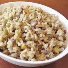 Majadara (arroz com lentilha árabe) @ allrecipes.com.br