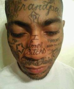 41 of the Worst Tattoo Fails You Will Ever See - Obsev Tattoos Gone Wrong, Terrible Tattoos, Strange Tattoos, Ghetto Tattoos, Funny Tattoos, Worst Tattoos, Dumbest Tattoos, Stupid Face, Wtf Face
