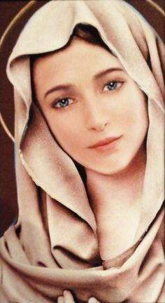 Hail Mary full of grace! Mother Of Christ, Jesus Mother, Blessed Mother Mary, Divine Mother, Blessed Virgin Mary, Virgin Mary Art, Mother Mary Images, Images Of Mary, Mama Mary