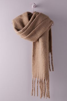 The Bonnie, Effortless Chic, Warm Outfits, Winter Accessories, Dress Brands, Scarf Wrap, Girl Fashion, Fashion 101, Purple
