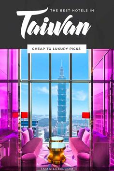 Looking for the best hotels in Taipei, Taiwan? Check out this ultimate list of top places to stay from hostels to luxurious staycations. // #Hostel #BudgetTravel #LuxuryTravel Taiwan Travel, Asia Travel, Monaco, Romantic Hotel Rooms, Online Travel Agent, Taipei Taiwan, Cheap Hotels, Travel Light, Travel Abroad