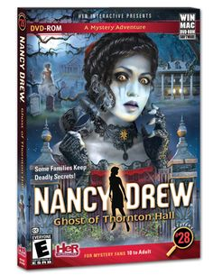 Nancy Drew #24 -Spooky but the story was mediocre. Think I need to replay it.