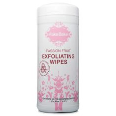 Remove residual self-tanner before your next spray tanning appointment. // Exfoliating Wipes by Fake Bake