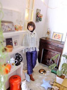 momoko doll  #petworks #doll house #momoko #doll