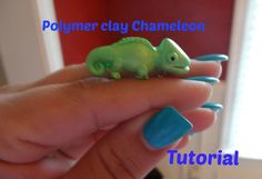 Polymer Clay Chameleon charm tutorial The Effective Pictures We Offer You About Polymer Clay Crafts bear A quality picture can tell you many things. You can find the most beautiful pictures that can b Cute Polymer Clay, Fimo Clay, Polymer Clay Projects, Polymer Clay Charms, Ceramic Clay, Clay Crafts, Polymer Clay Sculptures, Polymer Clay Miniatures, Sculpture Clay