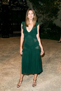 Pin for Later: Last Night's Burberry Show Was About So Much More Than the Runway Michelle Monaghan
