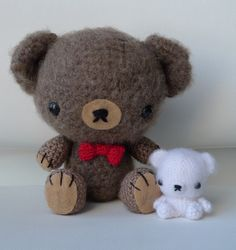 DIY Crochet Teddy.
