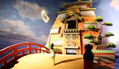 Sen to Chihiro no Kamikakushi / Spirited Away SCULPTURE in Studio Ghibli Theme Park