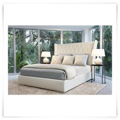 Found this great product at cityfurniture.com, for only $699.95.  Bed includes: Headboard, footboard, rails, and platform slat system    The Neeva shelter bed embraces you with warmth and protection as you sleep. This elegantly detailedplatform bed will bring a sense of comfort and repose to your bedroom, as well as being a fine complement to your decor.