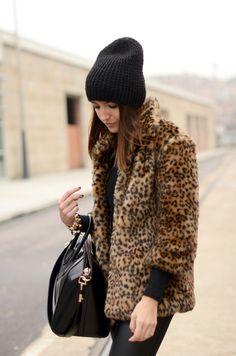 58e542b9a8b7c I probably need a faux fur leopard print coat Leopard Fur Coat