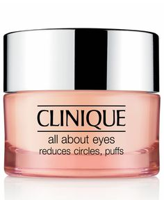 Diminishes the appearance of eye puffs, darkness, fine lines. Lightweight, non-creep, cream/gel formula actually helps hold eye makeup in place. For use morning and night, under eyes and on the lids.
