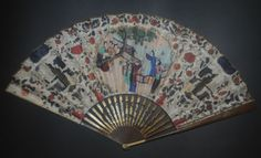 Fino Antiguo Imperio Francés Dorado Oro Talladas A Mano De Seda De Imitación Concha Ventilador in Antiques, Decorative Arts, Other Antique Decorative Arts | eBay