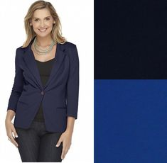 Metaphor Womens Knit Blazer Solid size XS S L NEW 12.99 https://www.ebay.com/itm/253259563012
