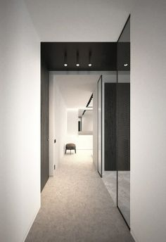 Black and white contrasts in this interior by AD Office.
