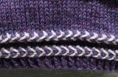 Latvialainen palmikko | Meillä kotona Knitted Hats, Knitting Patterns, Socks, Dots, Knit Patterns, Sock, Knitting Stitch Patterns, Stockings, Ankle Socks