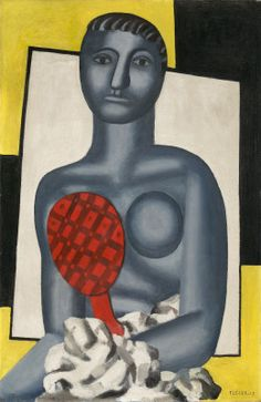 Woman with a Mirror,  1929 - Fernand Léger