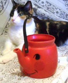 Vintage Tanda Toy  KoolAide' Coffee Pot Circa by MadelynsAttic, $13.00