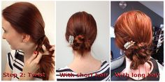 7 days of hairstyles how-to