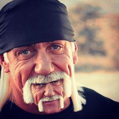 Hulk Hogan beard.