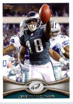 2012 Topps Football Card #34 Jeremy Maclin - Philadelphia Eagles (NFL Trading Card) by Topps. $1.97. 2012 Topps Football Card #34 Jeremy Maclin - Philadelphia Eagles (NFL Trading Card)