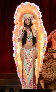 Cher Wows Fans In Almost-Naked Outfit On Her 'Dressed To Kill' Tour (PICS)