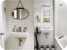 Miss Cosillass: Deco: azulejos metro House Rooms, Countertops, Room Decor, Flooring, Bathroom, Furniture, Sinks, Ideas Para, Mirrors