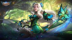 Odette : Butterfly Goddess - Mobile Legends   Desktop Wallpaper (1600x901)