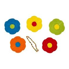IKEA - MJUKNÄVA, Textile decorative patches, Create your own personal designs by sewing the decorative patches on your cushions, throws or handbags.The decorative patches are easy to sew on with the included thread.