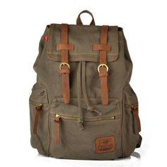 Daditong Vintage toile Sac à dos sac d'école sac randonnée sac extérieur - vert armée Daditong http://www.amazon.fr/dp/B00DNTZZMS/ref=cm_sw_r_pi_dp_-n0zwb05MAAKQ