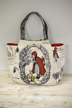 Love the bag and especially the fabric.