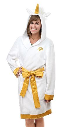 This ridiculously wonderful robe. | 26 Magical Unicorn Things You Need In Your Life