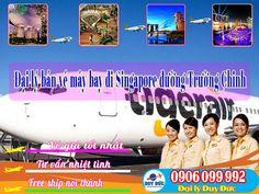 Đại lý bán vé máy bay đi Singapore đường Trường Chinh