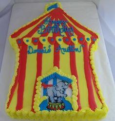 circus sheet cake Bethel Bakery Weston Cakes Pinterest