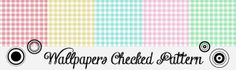 Morandi Sisters Microworld: Printable Wallpapers - Checked Pattern