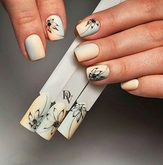 Nail Art Designs come in heaps of varieties and sty. Pedicure Designs, Manicure E Pedicure, Nail Art Designs, Nail Design, Nail Art Techniques, Art Simple, Flower Nail Art, Bright Nails, Gel Nail Art