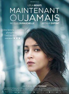 Maintenant ou jamais est un film de Serge Frydman avec Leïla Bekhti, Nicolas Duvauchelle. Synopsis : Quand on est une mère de famille, en principe, on ne braque pas les banques. Mais par les temps qui courent, ça peut être une solution pour assurer l'